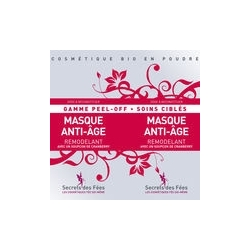 Masque Visage Peel-off Anti-âge - 2x8g-SECRETS DES FEES