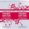 Masque Visage Peel-off Anti-âge - 2x8g-SECRETS DES FEES