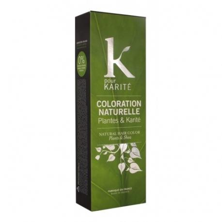 Coloration naturelle Châtain moyen - K pour Karité