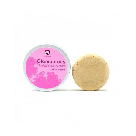 GLAMOUROUS shampoing  solide Cheveux secs -65g-PACHAMAMAI
