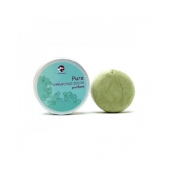 PURE shampoing solide Cheveux normaux -65g-PACHAMAMAI
