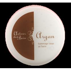 Gommage corps au sucre et à l'huile d'argan 200ml- Autour du Bain