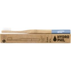 Brosse à dents adultes HYDROPHIL en bambou bague bleue- médium