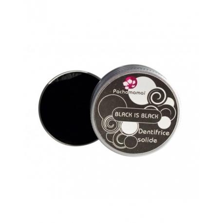 Dentifrice solide au charbon BLACK IS BLACK - Pachamamai