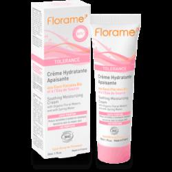Crème Hydratante riche Apaisante aux Eaux Florales Bio- 50ml- FLORAME