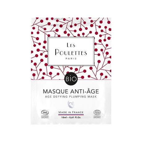 """Masque Unidose """"Anti-âge"""" - Les Poulettes"""