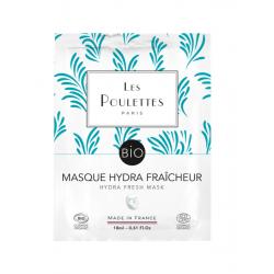 """Masque Unidose """"Hydra-Fraîcheur"""" - Les Poulettes"""