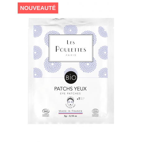 """Masque Patchs """"Contour des Yeux"""" - Les Poulettes"""
