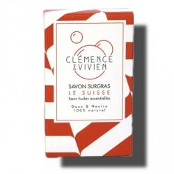 Savon Le Suisse- Sans huiles essentielles-100g - Clémence et Vivien