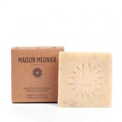 Savon surgras nourrissant au lait de soja et beurre de mangue -100 g- MAISON MEUNIER