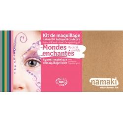 Kit de maquillage 8 couleurs -Mondes enchantés-NAMAKI