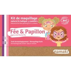 Kit 3 couleurs -Fée et Papillon-NAMAKI