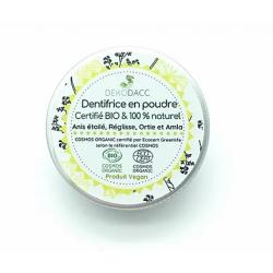 Dentifrice en poudre - Boîte alu 60 ml -Dekodacc