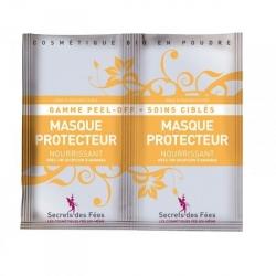 Masque Visage Peel-Off Protecteur Nourrissant - 2x8g-SECRETS DES FEES
