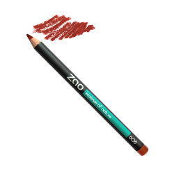 Crayon Lèvres Brun orangé n°608 ZAO Make Up
