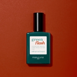 Vernis GREEN FLASH Semi-permanent- Indian Summer - 15ml -Manucurist
