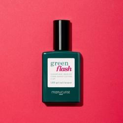Vernis GREEN FLASH Semi-permanent-Peonie - 15ml -Manucurist