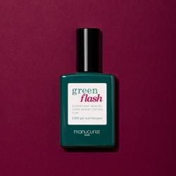Vernis GREEN FLASH Semi-permanent-Violeta - 15ml -Manucurist