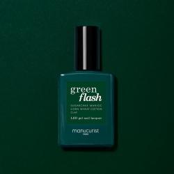 Vernis GREEN FLASH Semi-permanent-Emerald - 15ml -Manucurist