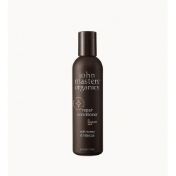 Après-shampoing cheveux secs et abîmés miel-hibiscus John Masters Organics