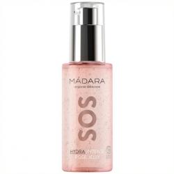 Sérum-gel intense à la rose SOS Hydra - Madara
