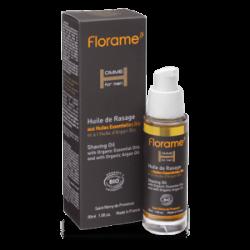 Huile de rasage aux huiles essentielles Bio-30 ml-FLORAME