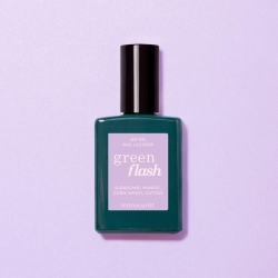 Vernis GREEN FLASH Semi-permanent- Lisa lilas - 15ml -Manucurist
