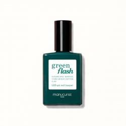 Vernis GREEN FLASH Semi-permanent-Milky white- 15ml -Manucurist