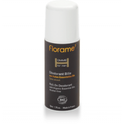 Déodorant bille aux huiles essentielles Bio-50 ml-FLORAME