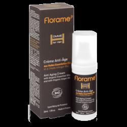 Créme anti-âge aux Huiles essentielles Bio - 30ml- FLORAME