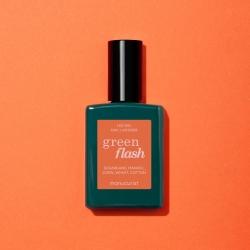 Vernis GREEN FLASH Semi-permanent- Acid orange - 15ml -Manucurist
