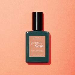 Vernis GREEN FLASH Semi-permanent- Peach - 15ml -Manucurist