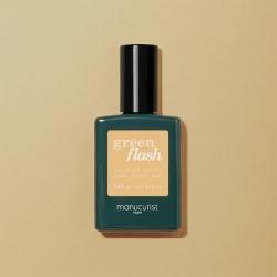 Vernis GREEN FLASH Semi-permanent- Gold sand- 15ml -Manucurist