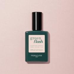 Vernis GREEN FLASH Semi-permanent- Pale rose - 15ml -Manucurist