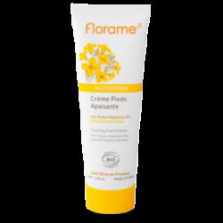 Crème pieds apaisante aux Huiles végétales Bio - 75ml- FLORAME