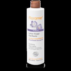 Lotion visage Clarifiante aux Eaux florales bio-peaux grasses ou à problèmes - 200ml- FLORAME