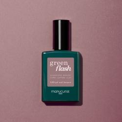 Vernis GREEN FLASH Semi-permanent- Rose Mountbatten - 15ml -Manucurist