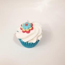 Mini Cupcake de bain FLOWER POWER - AUTOUR DU BAIN