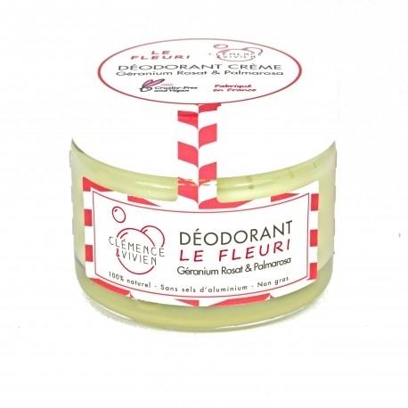 """Baume déodorant """"LE FLEURI"""" Clémence et Vivien - 50g"""