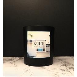Bougie végétale parfumée Musc blanc- 240g