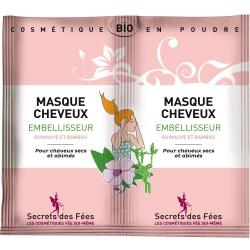 Masque embellisseur pour cheveux-2 x 8g-SECRETS DES FEES