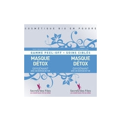 Masque Detox Peel Off Visage - 2x8g-SECRETS DES FEES