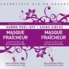 Masque Visage Peel-off Fraîcheur Coup d'Eclat - 2x8g-SECRETS DES FEES